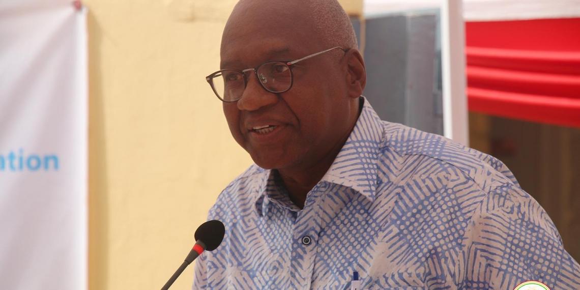 Cheick Sacko ministre guinéen de la justice garde des sceaux.