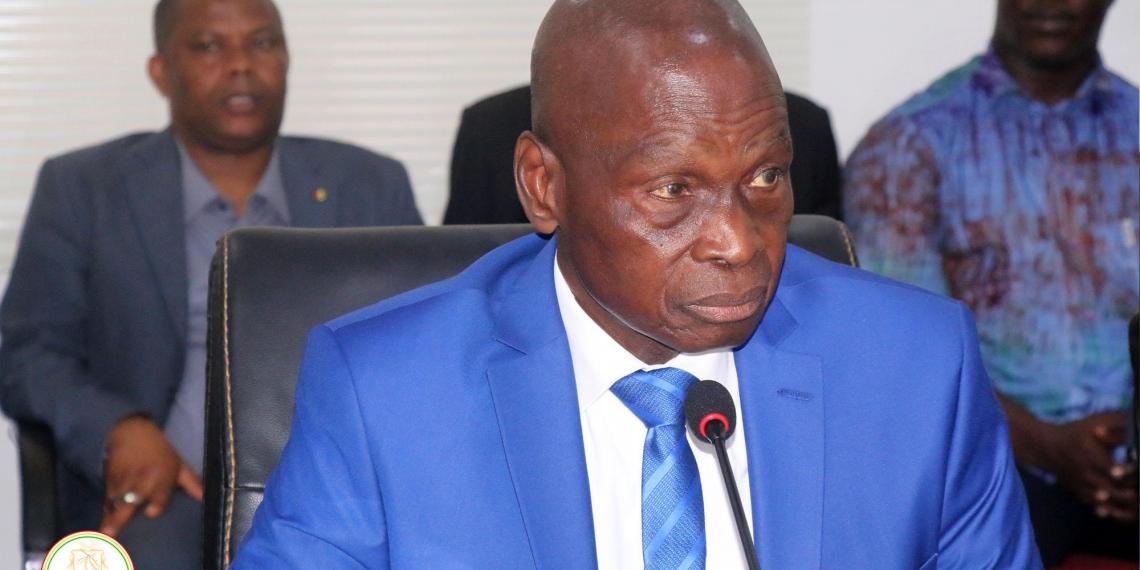 Mamady CAMARA ministre guinéen de l'économie et des finances.