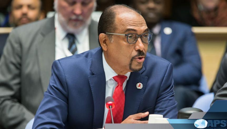 Michel Sidibé, Directeur exécutif de l'ONUSIDA.