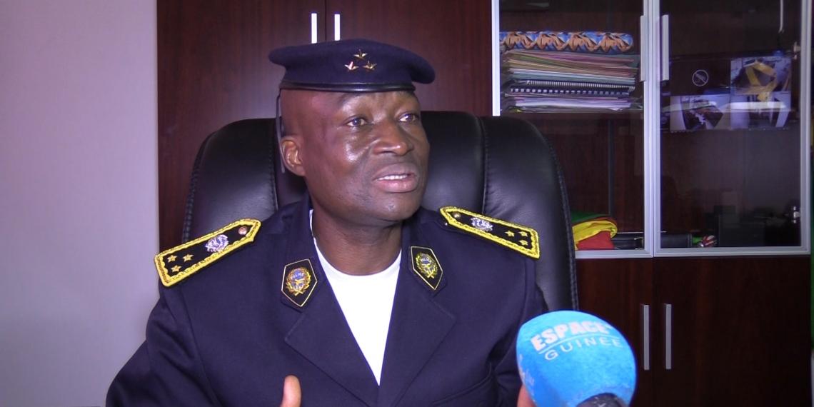 Général Ansoumane CAMARA '' Bafoé '' directeur général de la police nationale (Guinée)