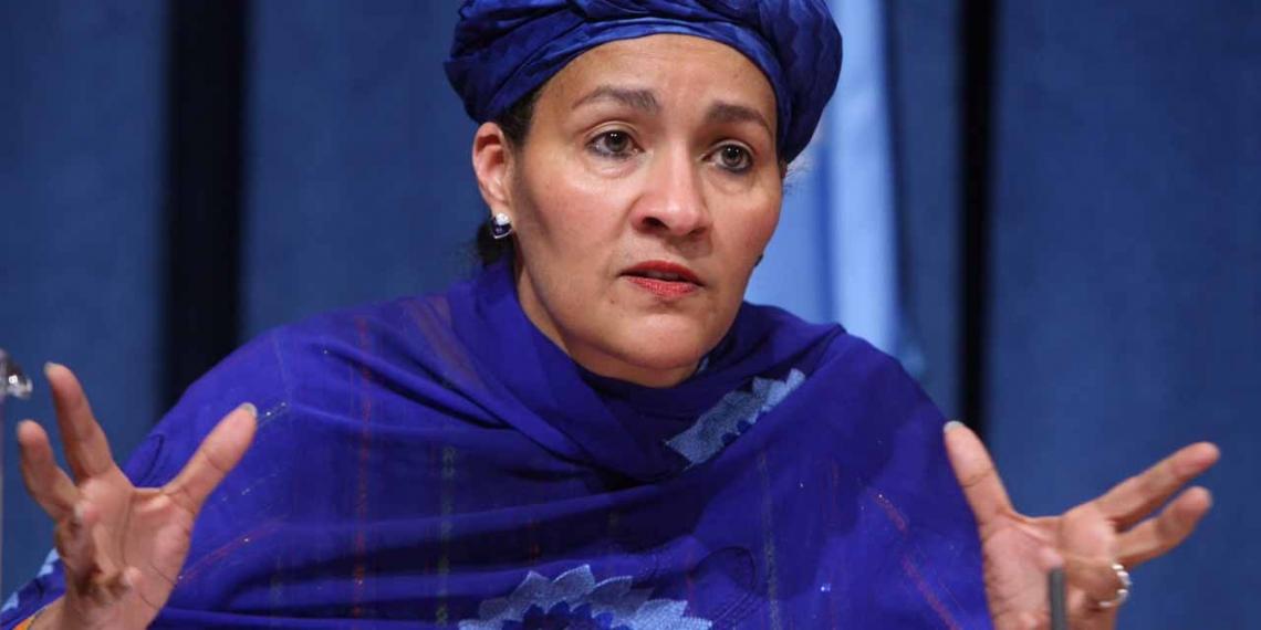 Amina Mohammed Vice-secrétaire générale des Nations unies.