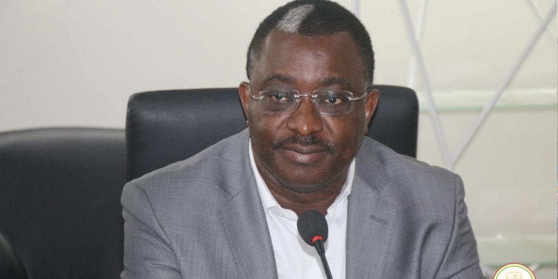 Maitre Salif Kébe Président la CENI Crédits/CCG République de Guinée