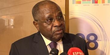 Abderahim Birème HAMID, Secrétaire exécutif de l'ABN (Autorité du Bassin du Niger) à la 38ème session ordinaire du conseil des ministres de l'ABN à Conakry